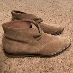 Super cute jcrew suede ankle boots